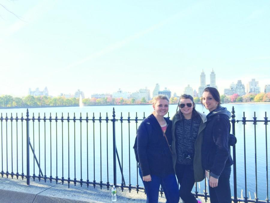 Kate Strickland, Chloe Shinn and Lexy Martin travel to New York City to see the community outreach art programs offered by the museusms to learn what they can do in Florence.