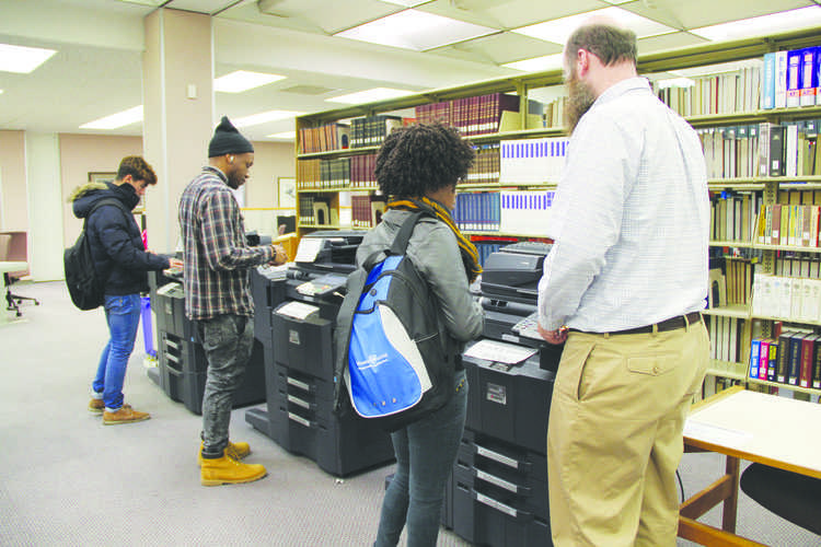 The printing policy introduced last semester has saved enough paper to equal at least 100 trees, Joyce Durant, dean of James A. Rogers Library, said. According to Durant, in just one semester, printing has reduced by 72 percent, helping decrease spending and FMU's environmental footprint.