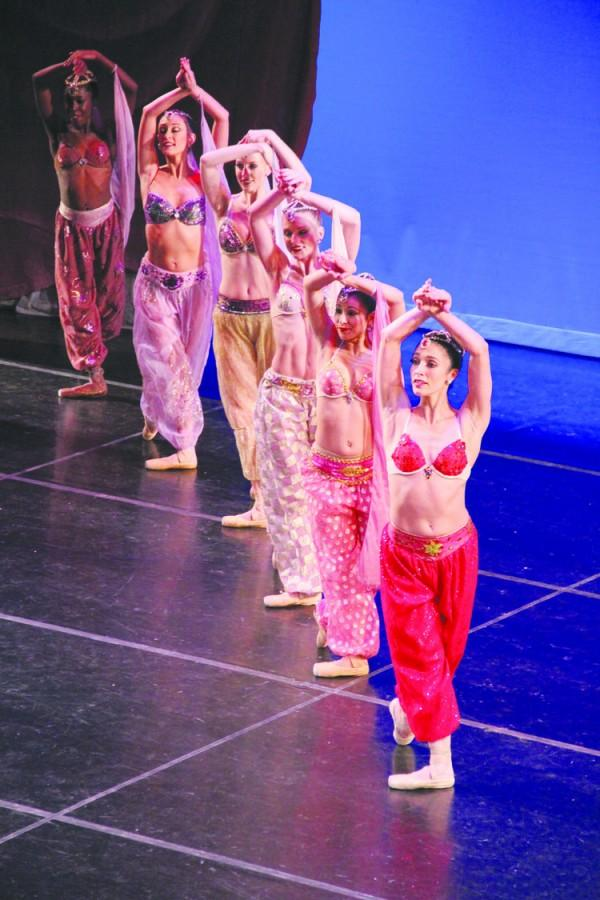 "Columbia City Ballet performs ""Aladdin"" at FMU's Performing Arts Center in downtown Florence. This is the first time that the company has performed the show in 13 years."