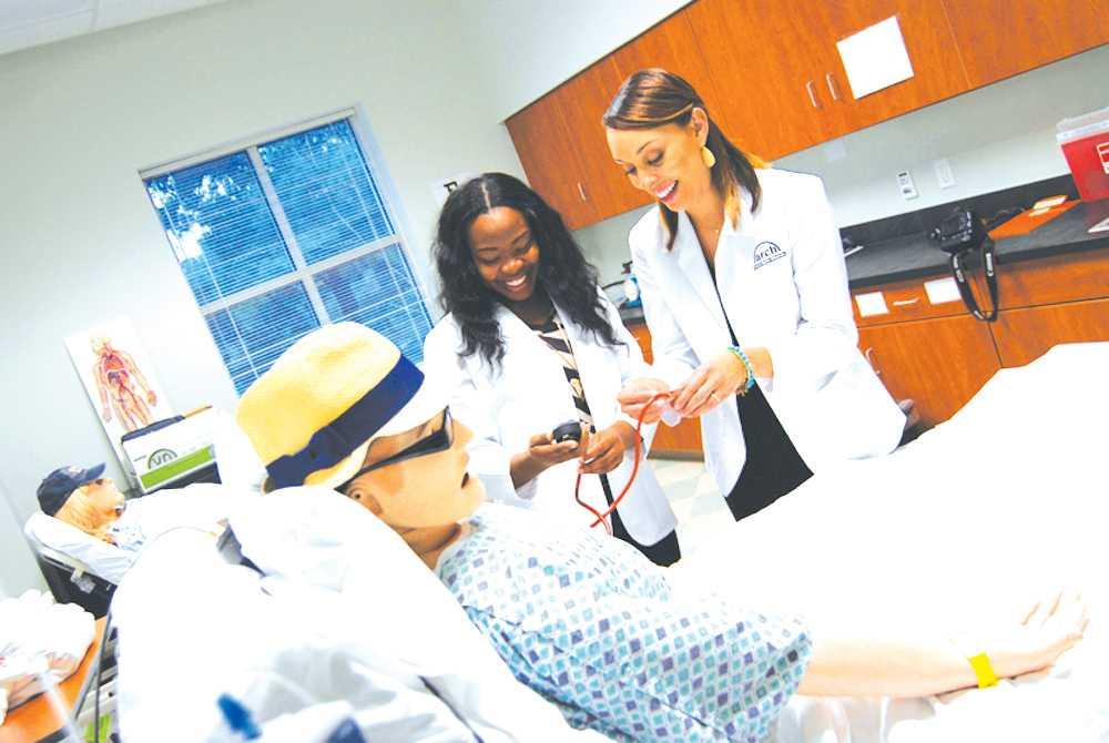 FMU's Department of Nursing received recognition as one of the region's only Center of Excellence in nursing. This is the third Center of Excellence on campus.