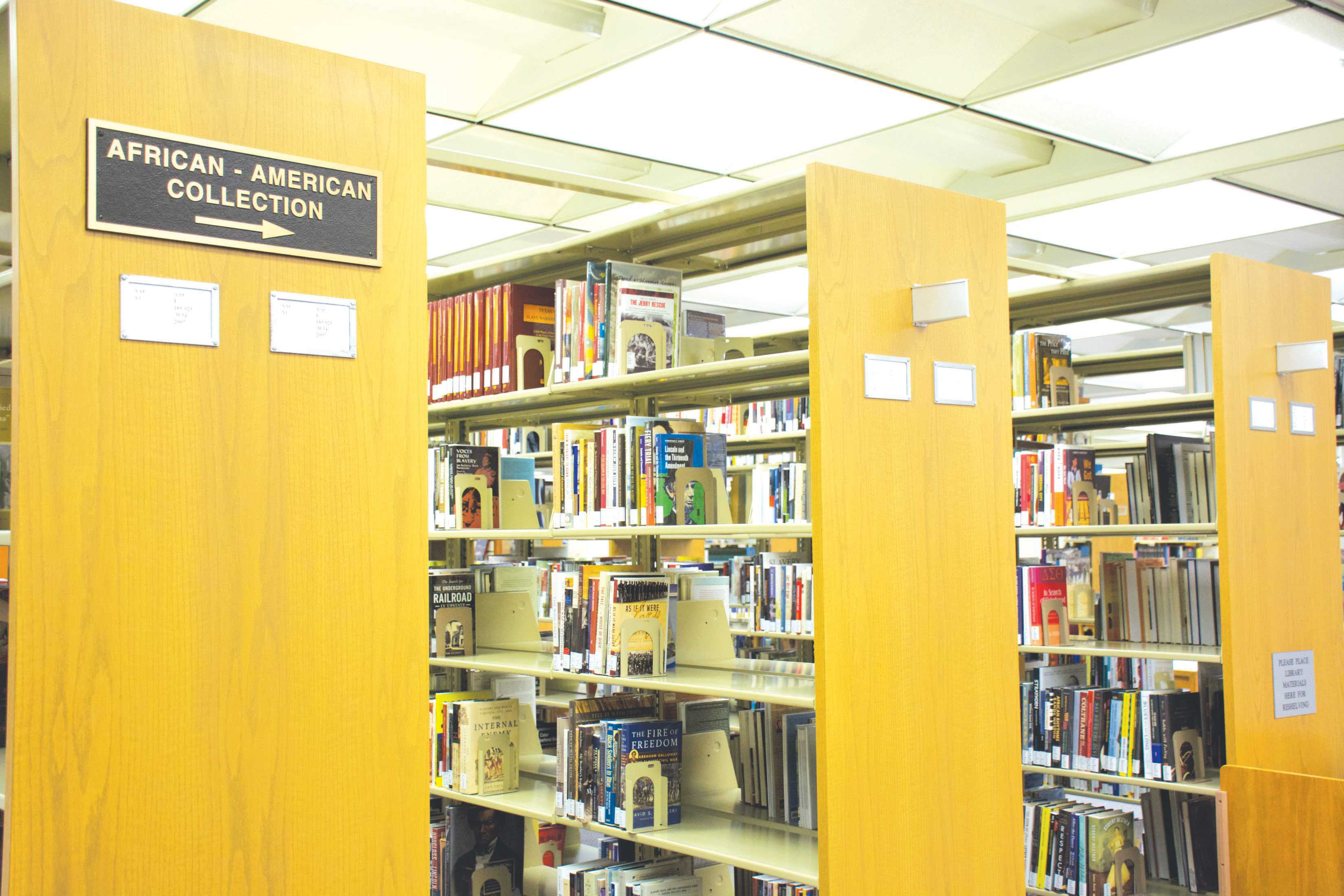 Rogers Library works to expand the African-American Collection to accommodate the new program on African and African American Studies. The library currently has approximately 3000 titles, but they hope to continue to add more as the program grows.