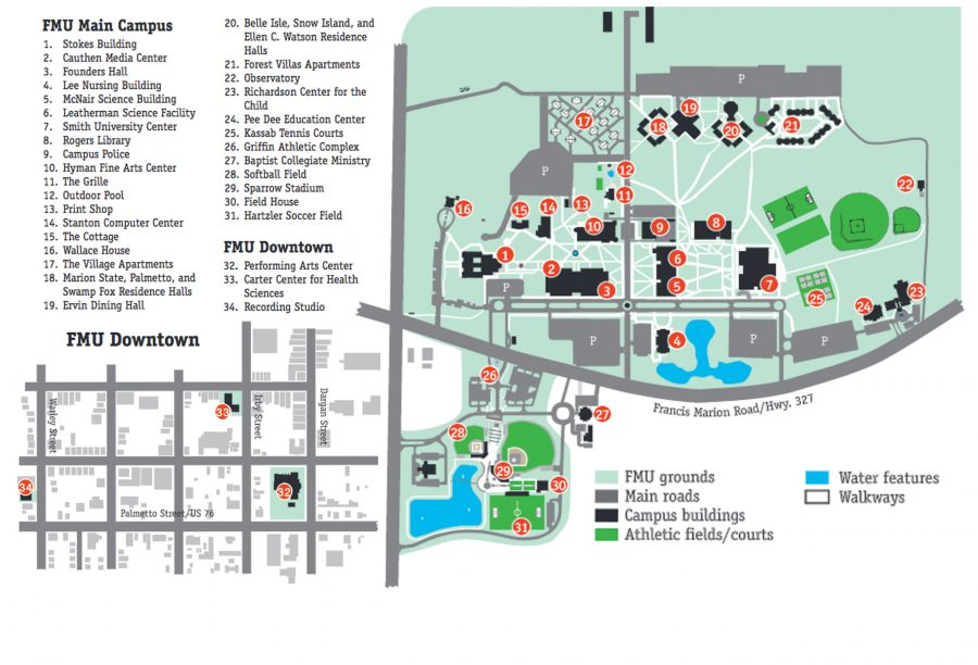FMU Campus Map