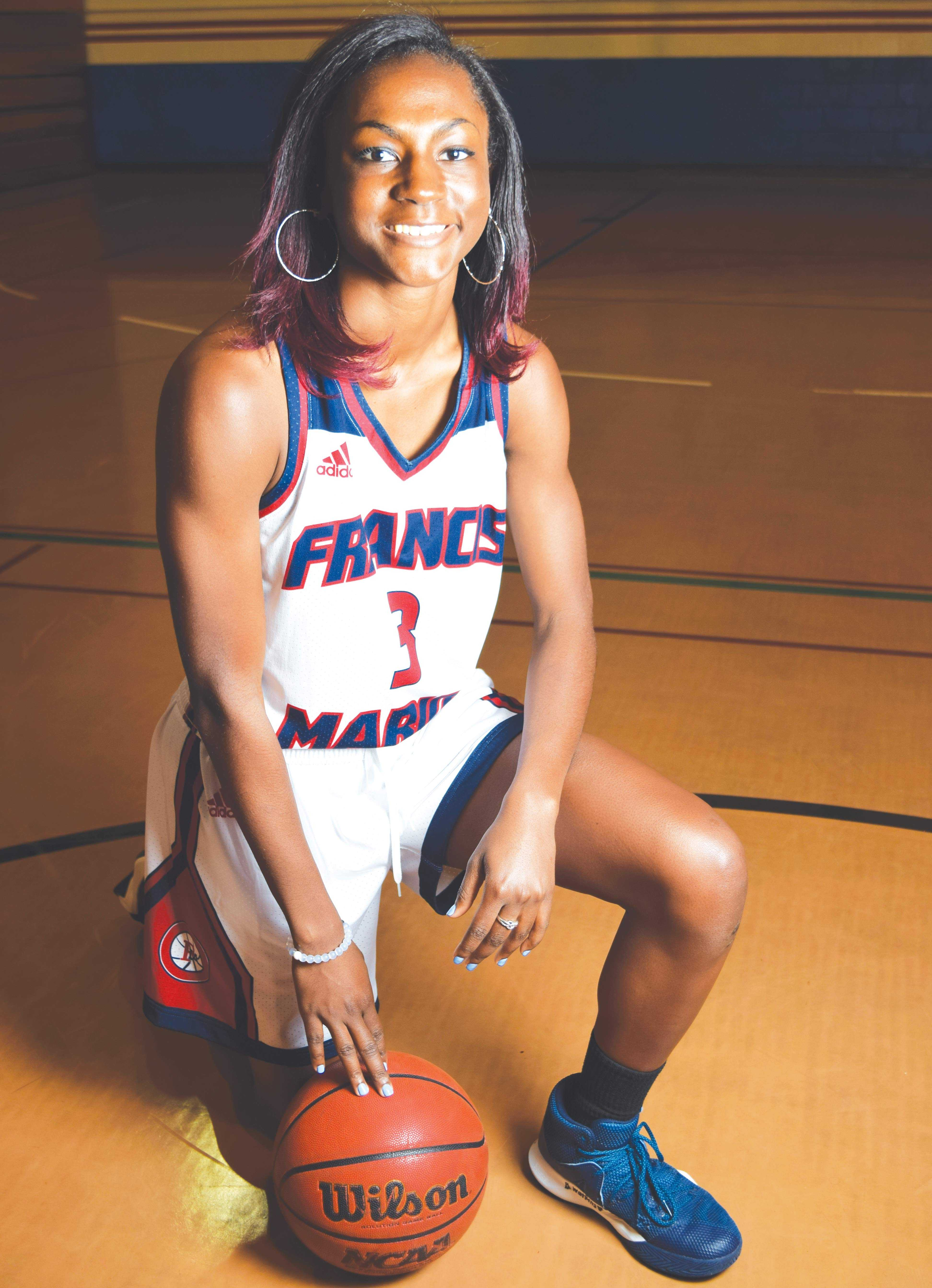 Briana Burgins has been playing basketball since she was 4-years-old, when her parents were her coaches on her first team.