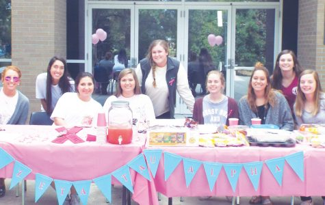"Sorority hosts ""Think Pink Drink Pink"""