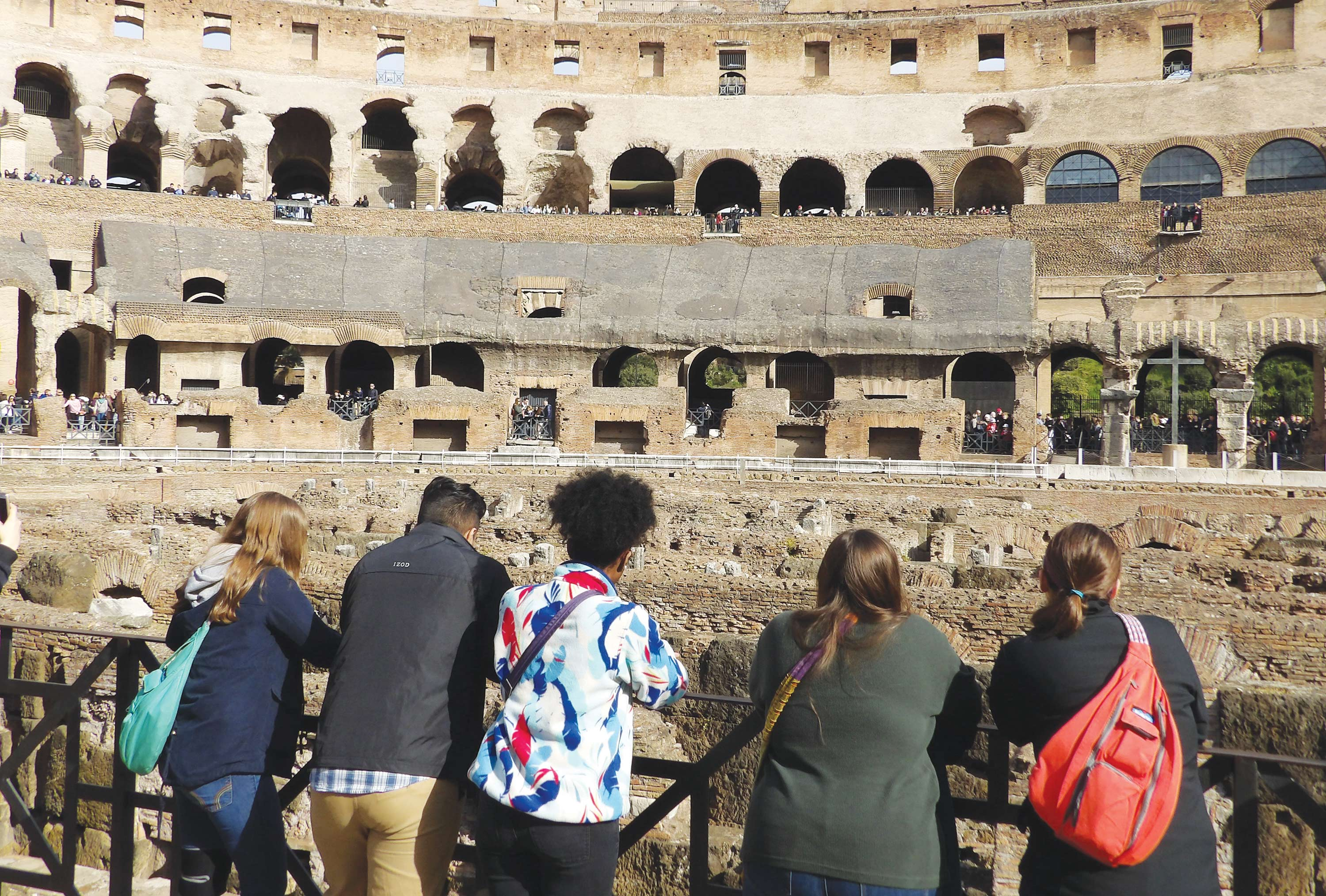 FMU Honors Ambassadors and McNair Scholars traveled to Italy during spring break, visiting landmarks such as the Coliseum and the Vatican.