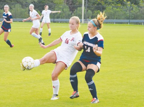 Soccer team drops season opener