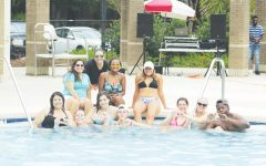 Greek life sponsors welcome back pool party