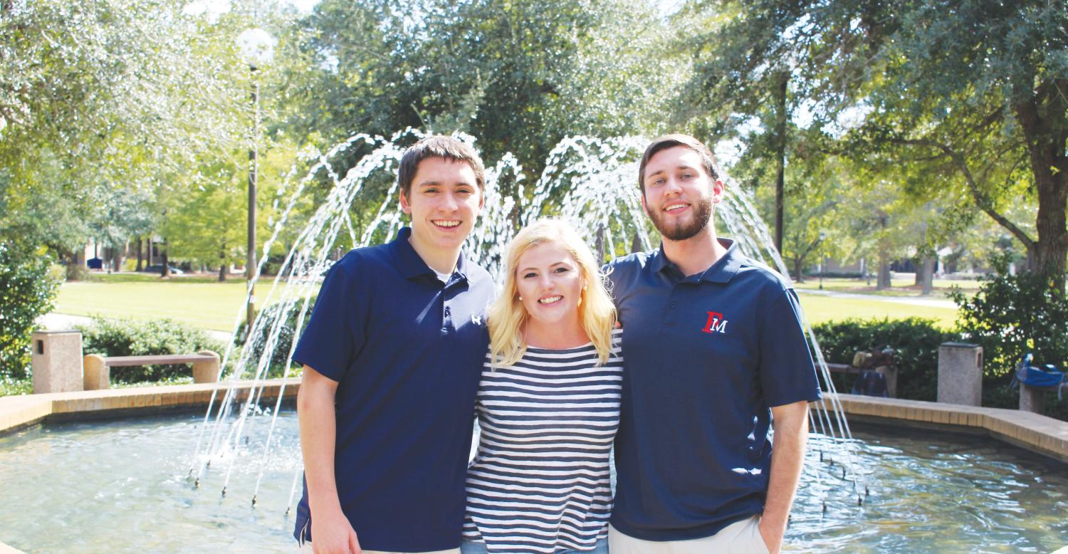Three FMU seniors assume leadership roles in South Carolina Federation of College Republicans. They plan to increase the club's presence and its collaboration with other political groups.