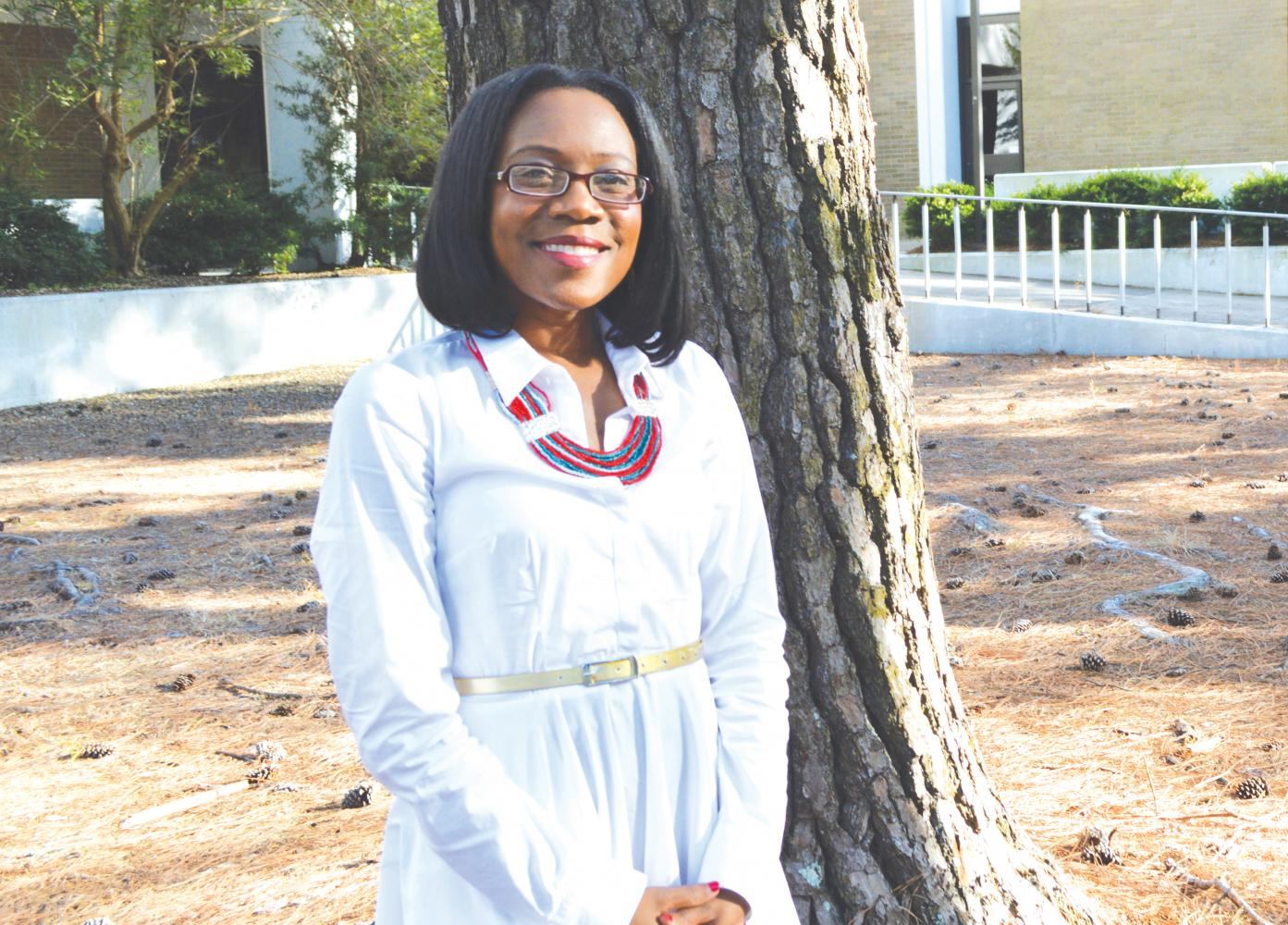 Dr. Erica James is a psychology professor at FMU. James plans to conduct a research project studying the use of FMU mental health services by minority students.
