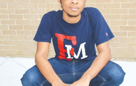 Senior theatre arts major Malcolm Parker hopes to use his talent and passion for acting to help and connect with others.