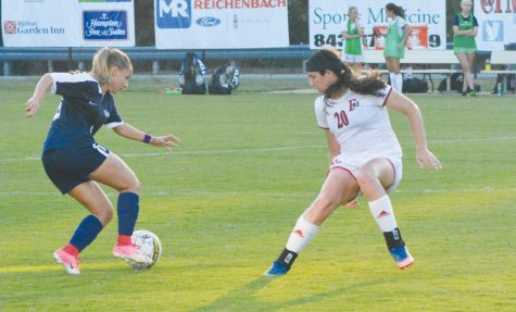 Lenior-Rhyne defeat Patriots in 2-1 match