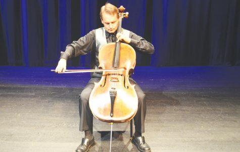 Artist interprets Bach pieces, performs shows