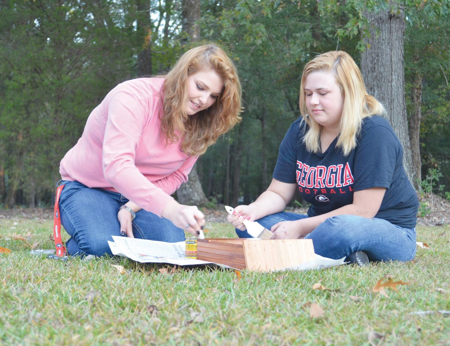 The Biology Club preserves the environment by protecting bats. Bats provide ecosystem services on the FMU campus.