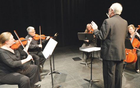 Faculty, students play in String Ensemble