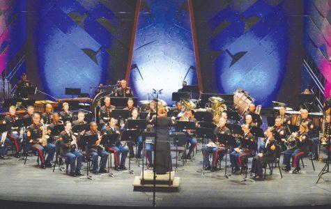 Marine band perform at PAC