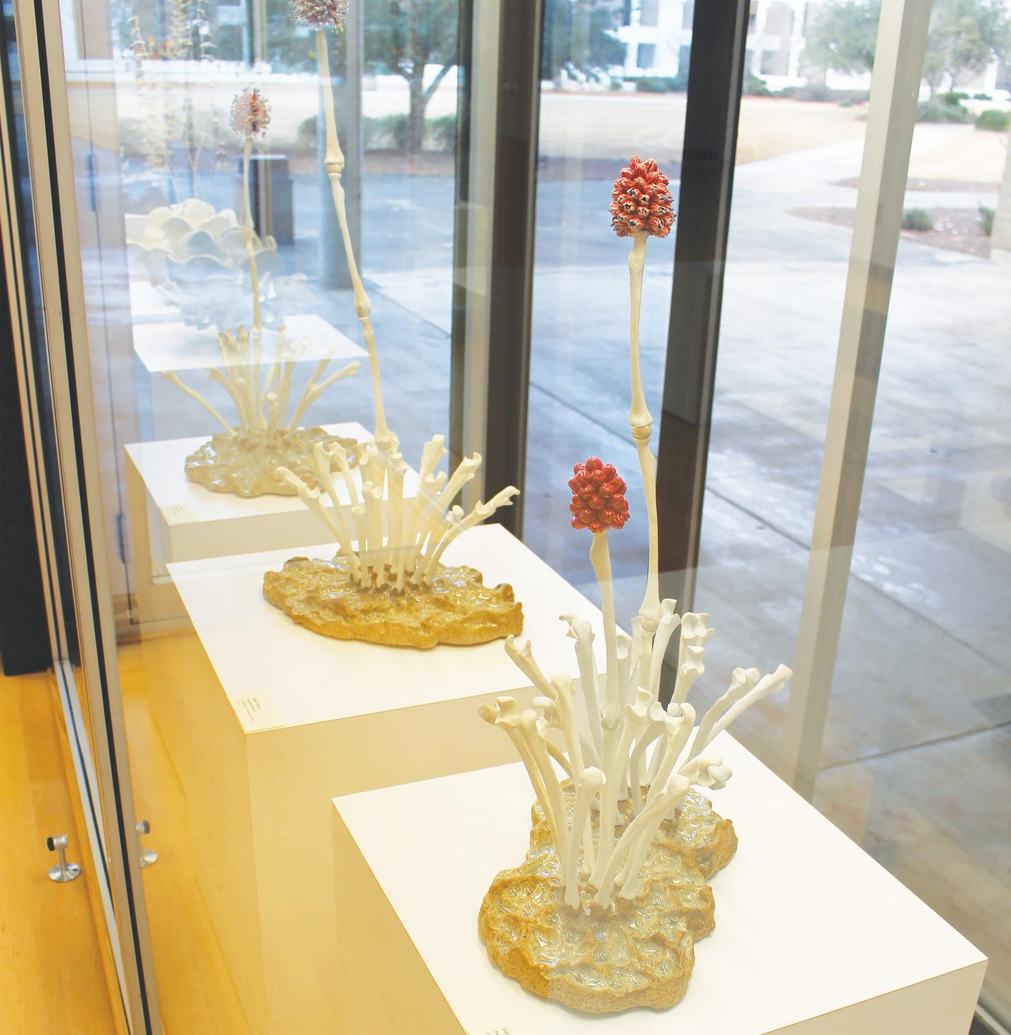 Elaine Quave says her ceramic sculptures are inspired by her desire to understand what it means to be human.