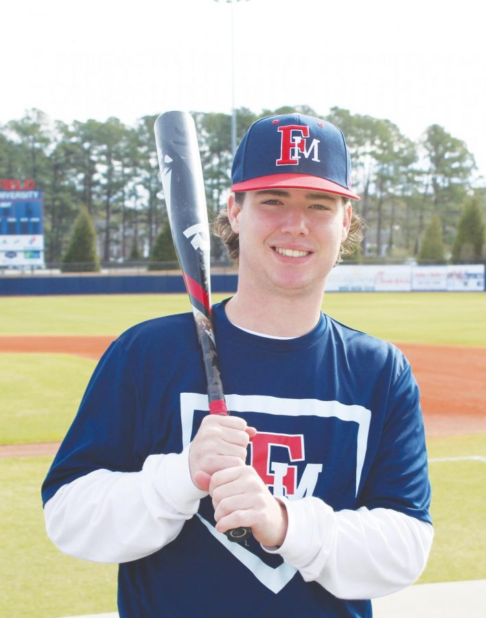 Jameson+Spitzmiller+is+starting+his+second+full+season+on+the+FMU+baseball+team.+Spitzmiller+is+able+to+play+multiple+positions.