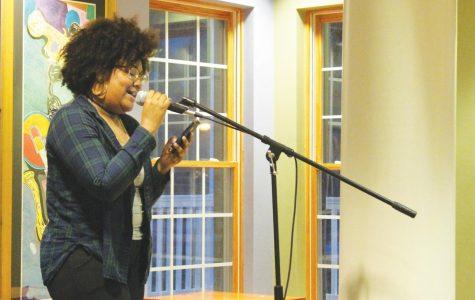 Students read original poems, compete for publication