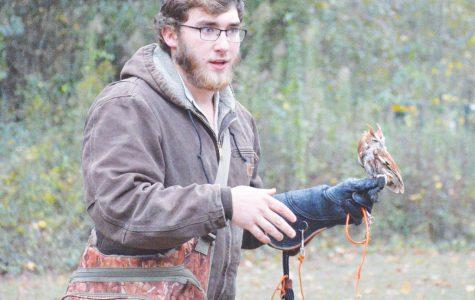 Student trains birds, educates children