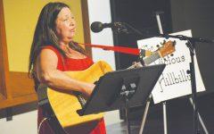 Professor tells dating stories through song