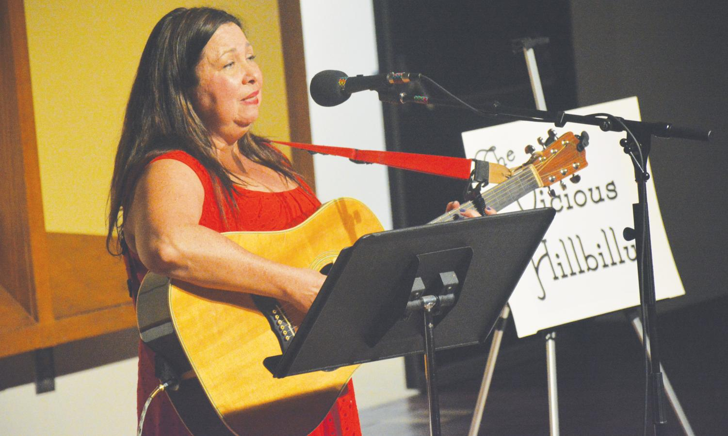 Dawn Larsen performs her original CD,