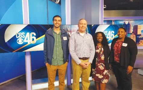 Students gain real-world experience, tour media outlets