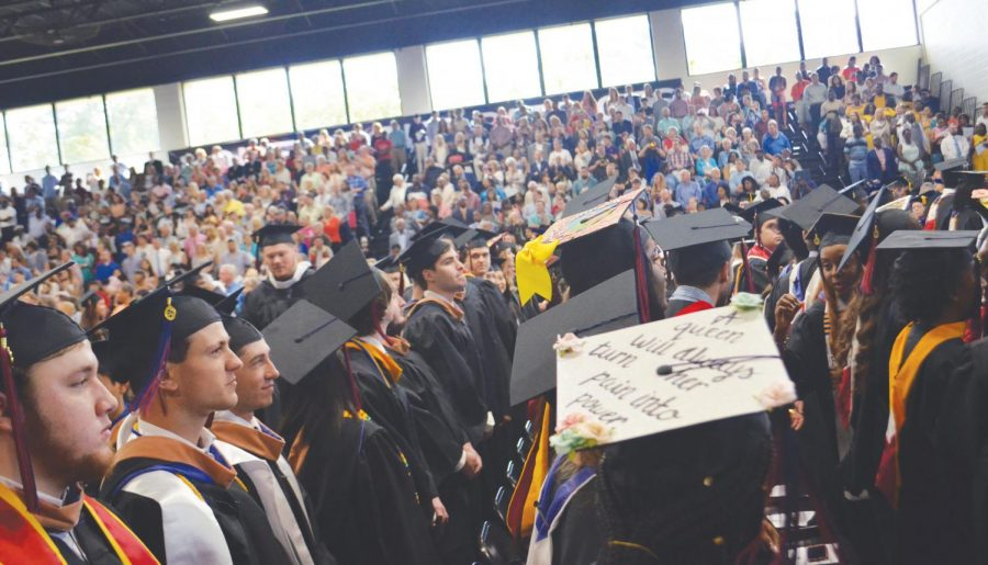 FMU awarded a total of 346 degrees to graduates at its spring commencement ceremony. This class was one of the largest to graduate in an academic year in the university's history.