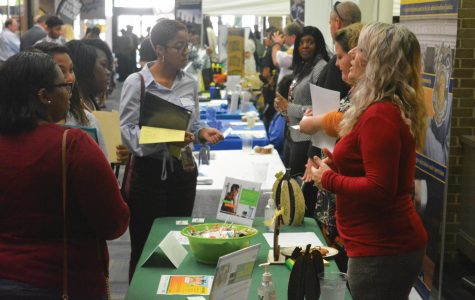 Career fair teaches students networking