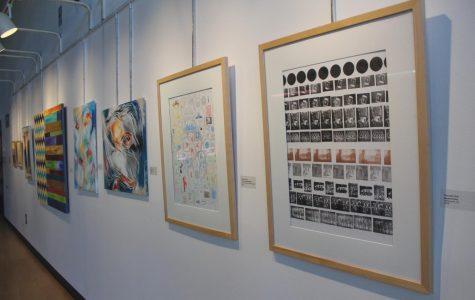 Gallery displays faculty art, overviews methods