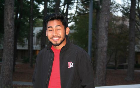 Ryan Singh, a native of Georgetown, Guyana, has felt welcomed by the kindness of the FMU community.