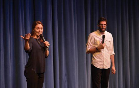 Comedians teach consent