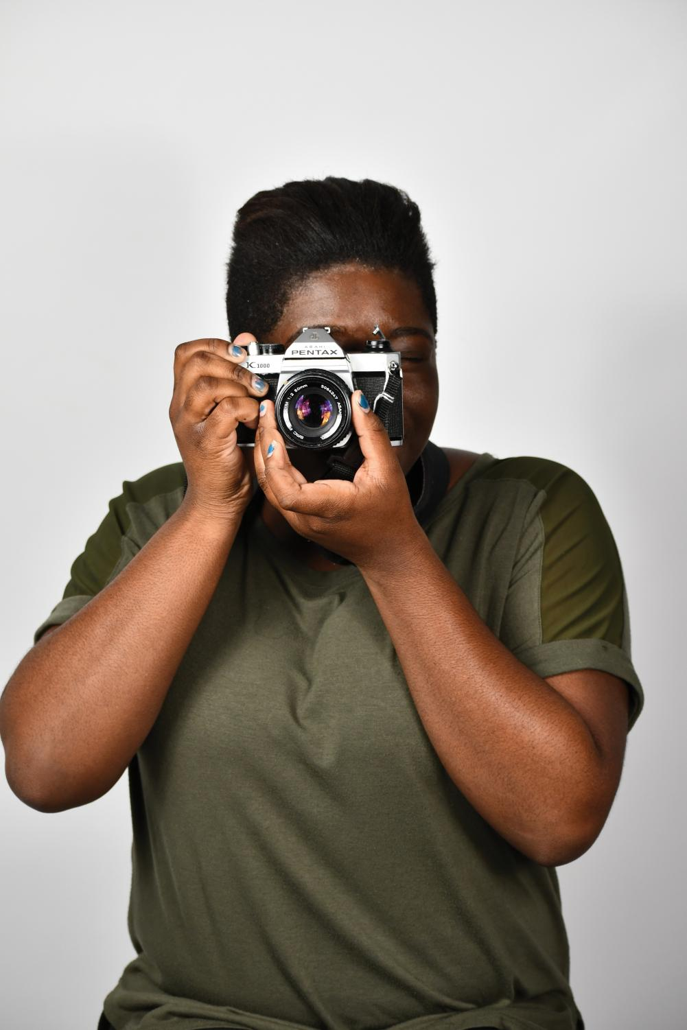Shayna Hunter enjoys photography because of the creativity involved.