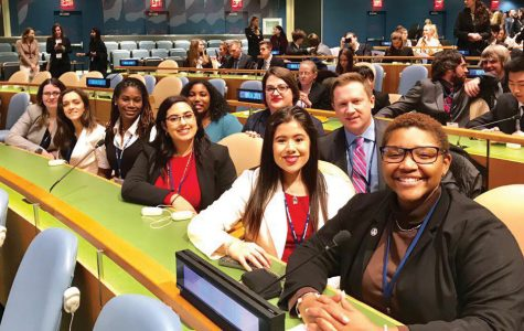 Students participate in NMUN