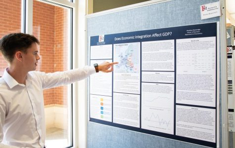 Students showcase their research at RED