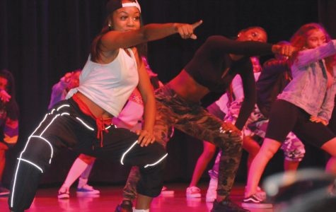 The Royal Dancing Dolls perform and invigorate the crowd at FMU's Got Talent.