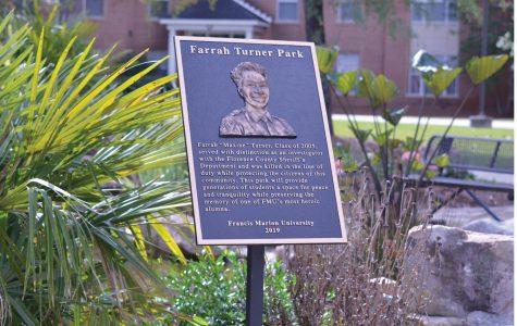 Farah Turner park was established in 2019 in honor of fallen officer Farah Turner, Class of 2005.