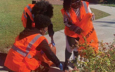 FMU cleans community