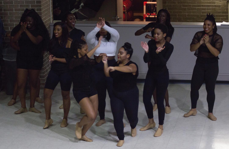 Finally Fierce performs a dance routine.