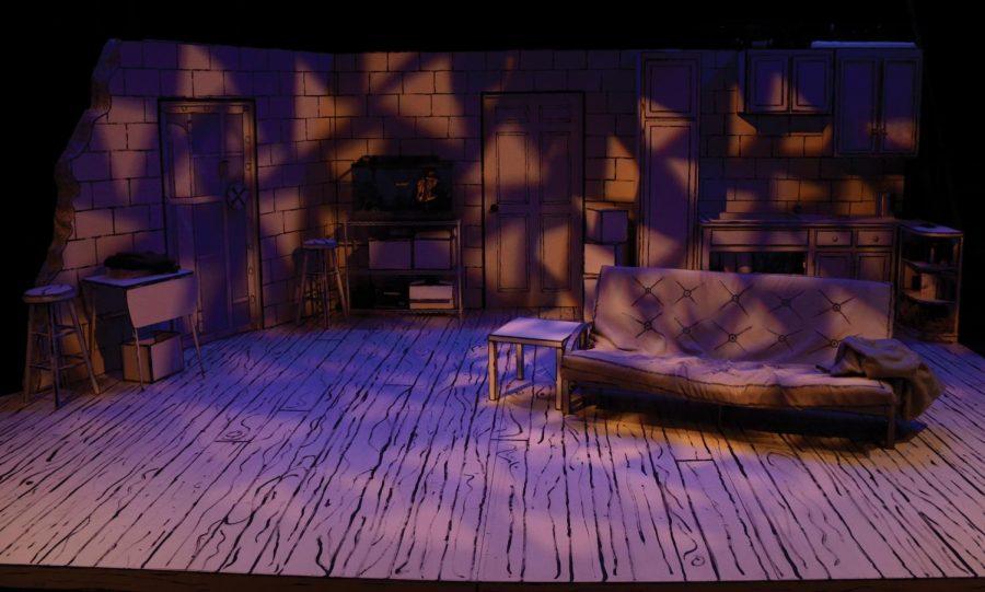 The set of Peter Sinn Nachtrieb's