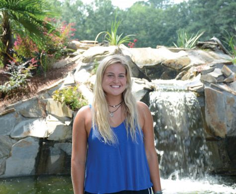 Camryn Cassetori is looking forward to her new position as vice president of honors and the upcoming tennis season.