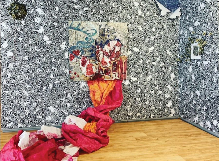 An installation from Adrian Rhodes'