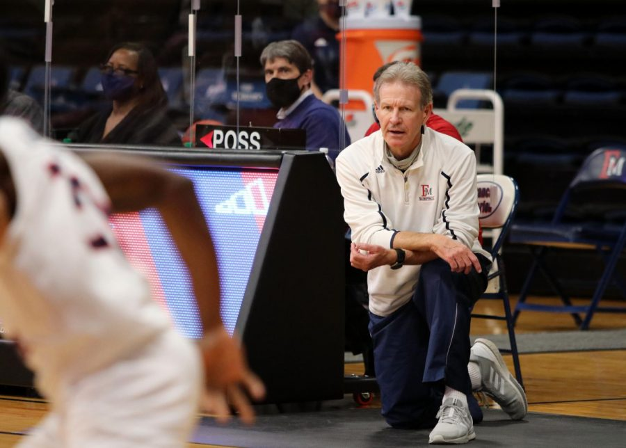 Gary Edwards is committed to returning to his roots leading the FMU men's basketball team to victory.
