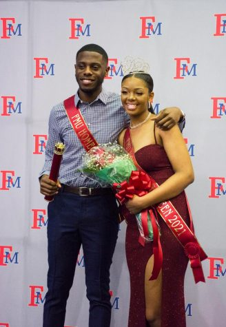 Malachi Dawson and Kei'yona Jordon were crowned Homecoming King and Queen during the coronation at the pep rally.