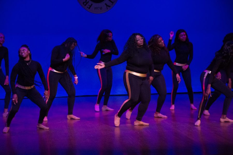 The Royalettes dance team shows off their versatility through several different dance styles in their showcase: The Enchanting.