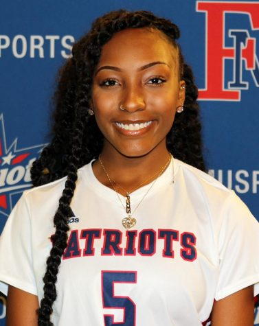 Rising senior forward Faith Allen ends challenging COVID-19 season on a high note and looks forward to the fall.